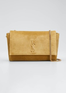 Saint Laurent Soft Kate Medium Reversible YSL Monogram Crossbody Bag