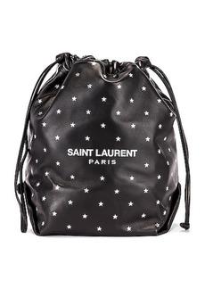 Saint Laurent Star Teddy Pouch Chain Bag
