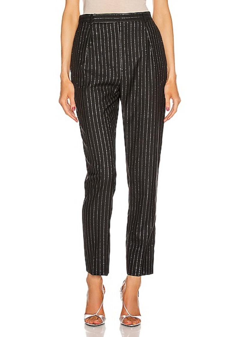 Saint Laurent Striped Tailored Pant