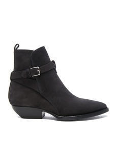 Saint Laurent Suede Theo Jodhpur Boots