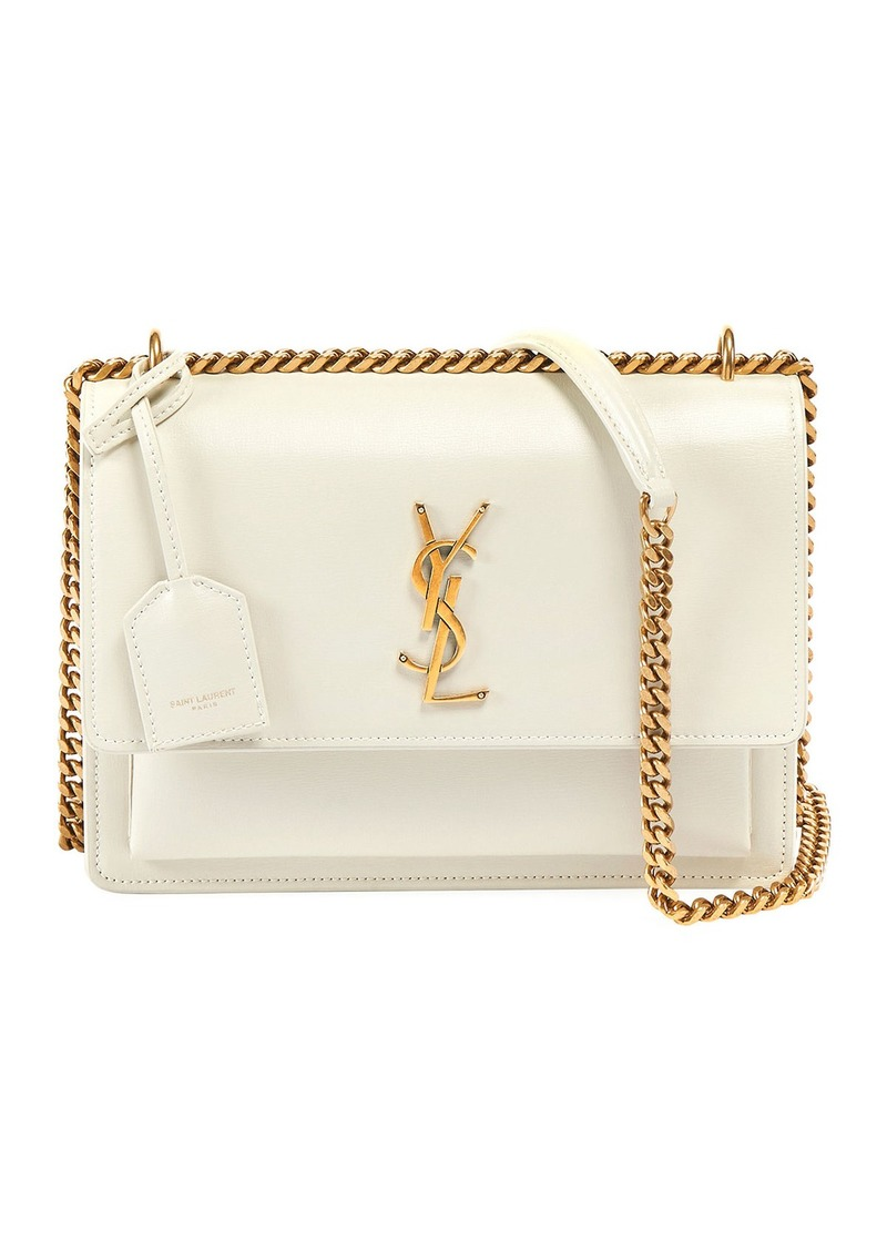 Saint Laurent Sunset Medium Monogram YSL Chain Crossbody Bag