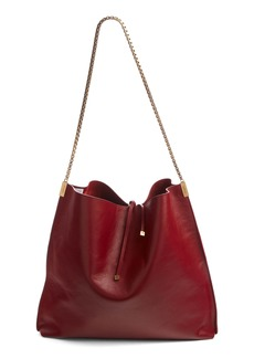 Saint Laurent Suzanne Calfskin Leather Hobo
