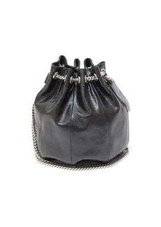 Saint Laurent Tasselled medium watersnake bucket bag