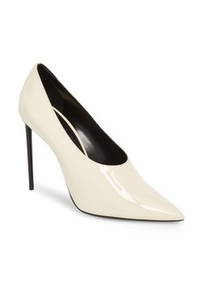Saint Laurent Teddy Pointy Toe Pump (Women)