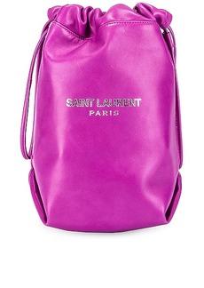 Saint Laurent Teddy Pouch Chain Bag