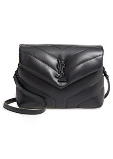 Saint Laurent Toy Loulou Leather Crossbody Bag