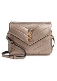 Saint Laurent Toy Loulou Matelassé Leather Crossbody Bag