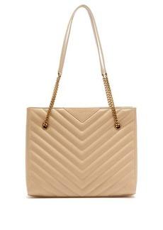Saint Laurent Tribeca medium quilted-leather shoulder bag
