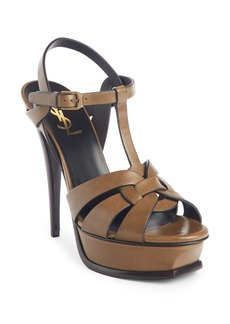 Saint Laurent Tribute Platform Sandal (Women)