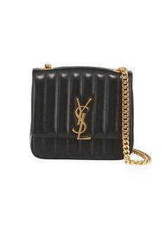 Saint Laurent Vicky Medium YSL Monogram Chain Crossbody Bag