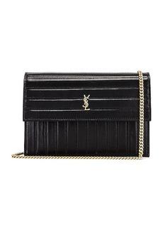 Saint Laurent Victoire Chain Wallet Bag