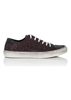 Saint Laurent Women's Bedford Glitter Sneakers