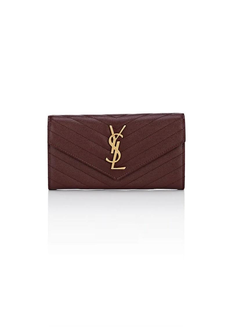 210aa5d81ca Saint Laurent Saint Laurent Women's Monogram Large Leather Envelope ...