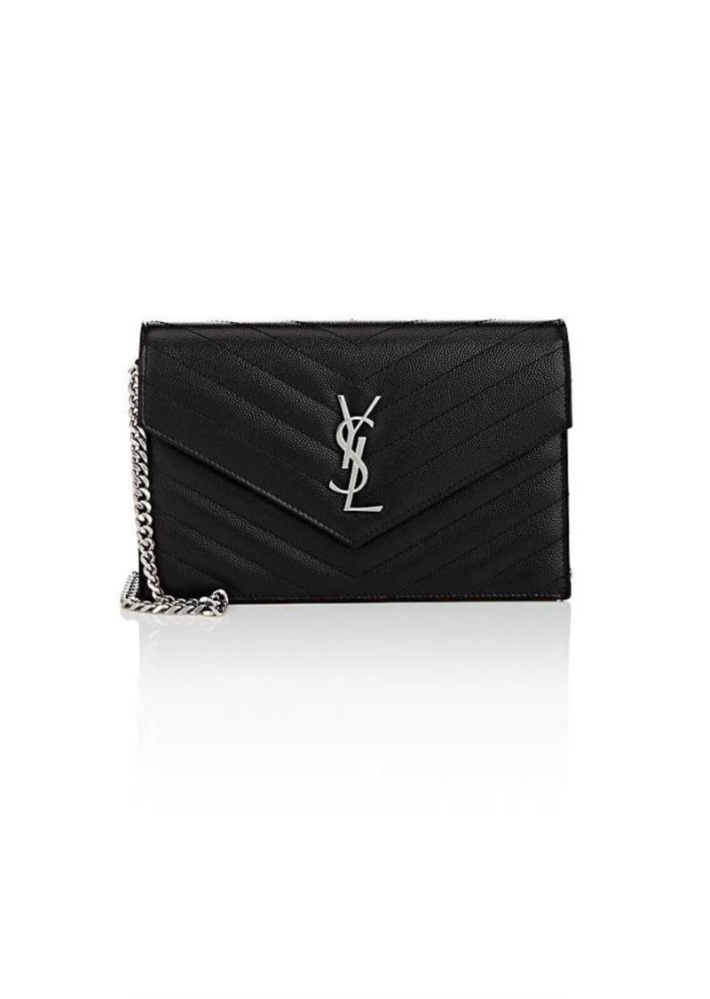 Saint Laurent Saint Laurent Women s Monogram Leather Chain Wallet ... 111190223