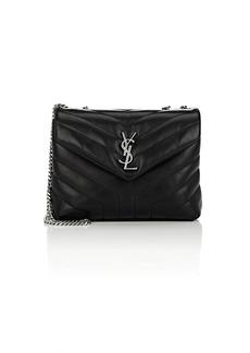 Saint Laurent Women's Monogram Loulou Small Leather Shoulder Bag - Black