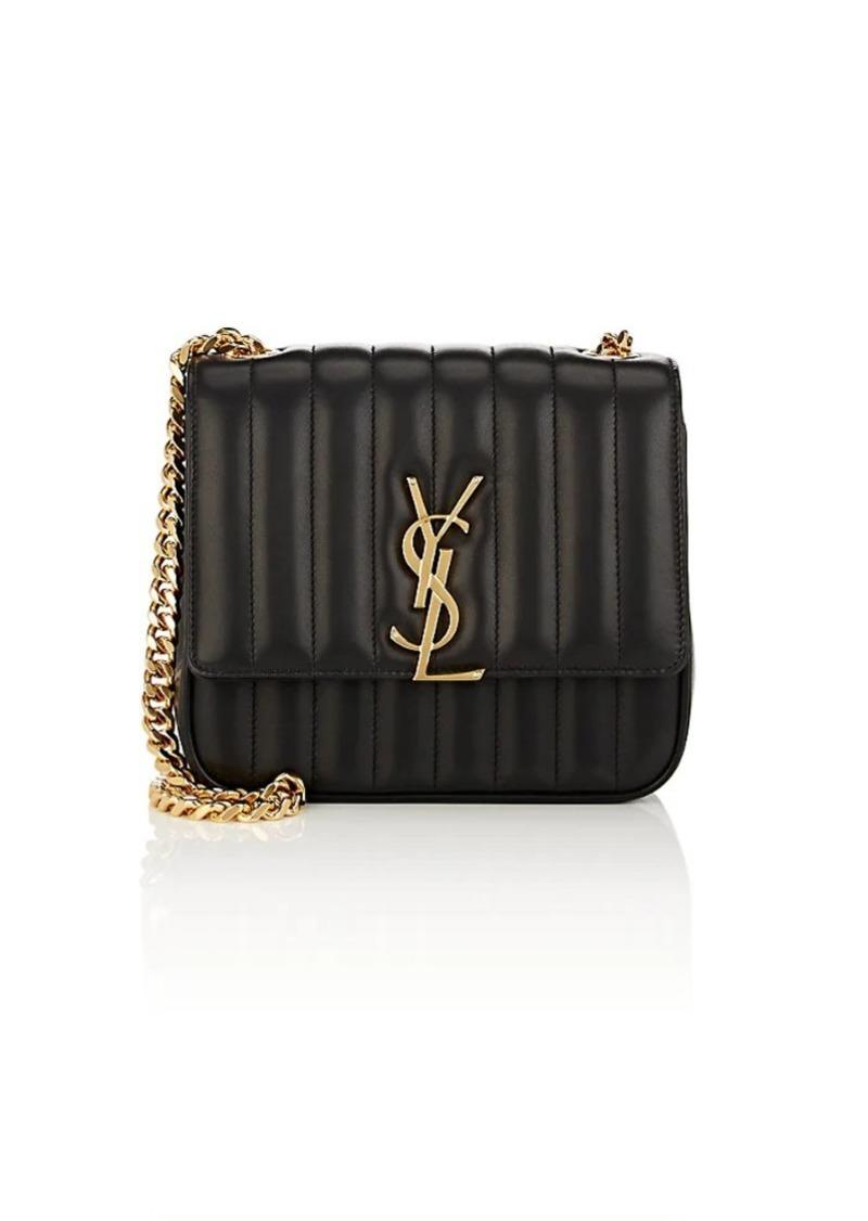 79e6cae958e5 Saint Laurent Saint Laurent Women s Monogram Vicky Medium Leather ...