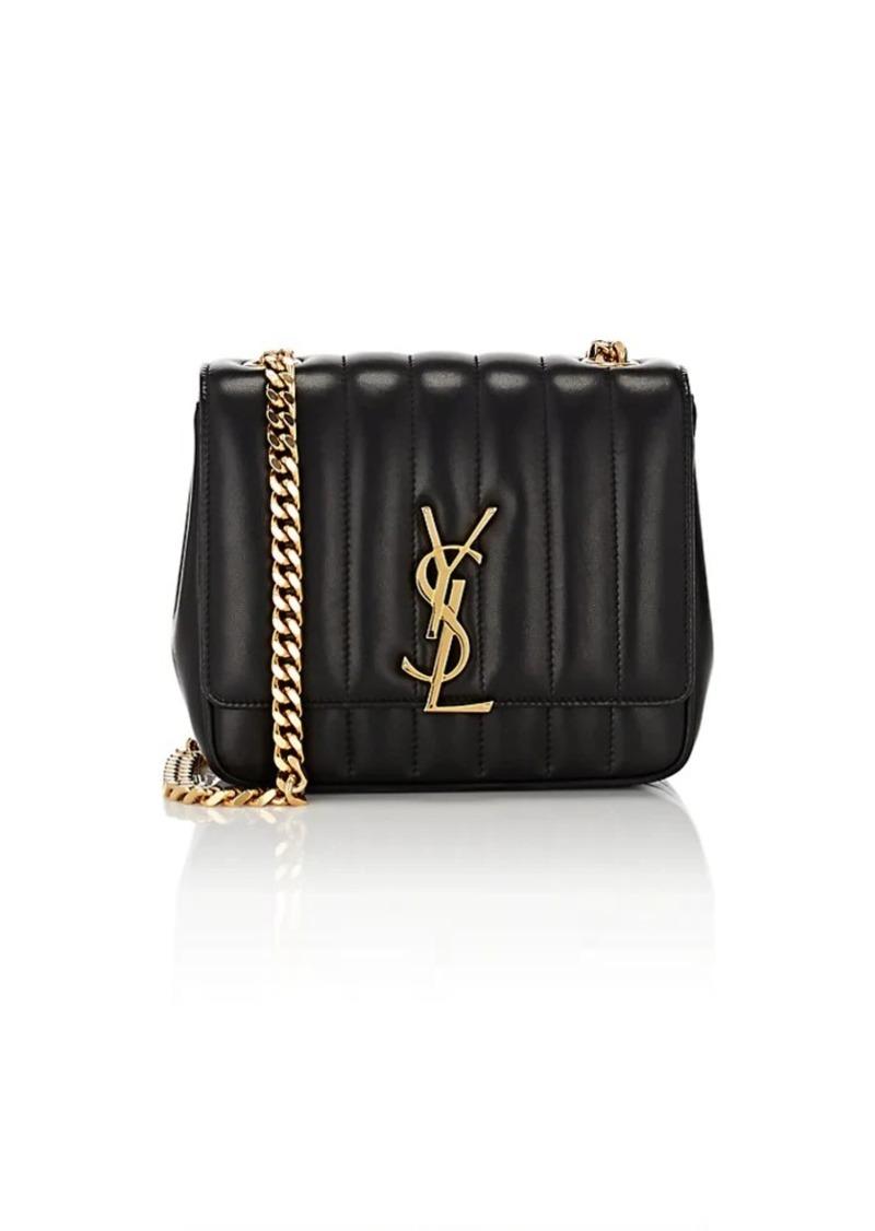 53eb2d55d07 Saint Laurent Saint Laurent Women s Monogram Vicky Small Leather ...