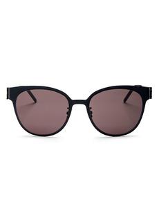 Saint Laurent Women's Round Sunglasses, 56mm
