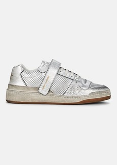 Saint Laurent Women's SL24 Leather Sneakers