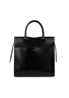Saint Laurent Women's Uptown Medium Leather Satchel - Black