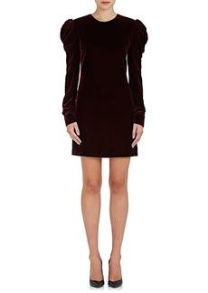 Saint Laurent Women's Velvet Minidress