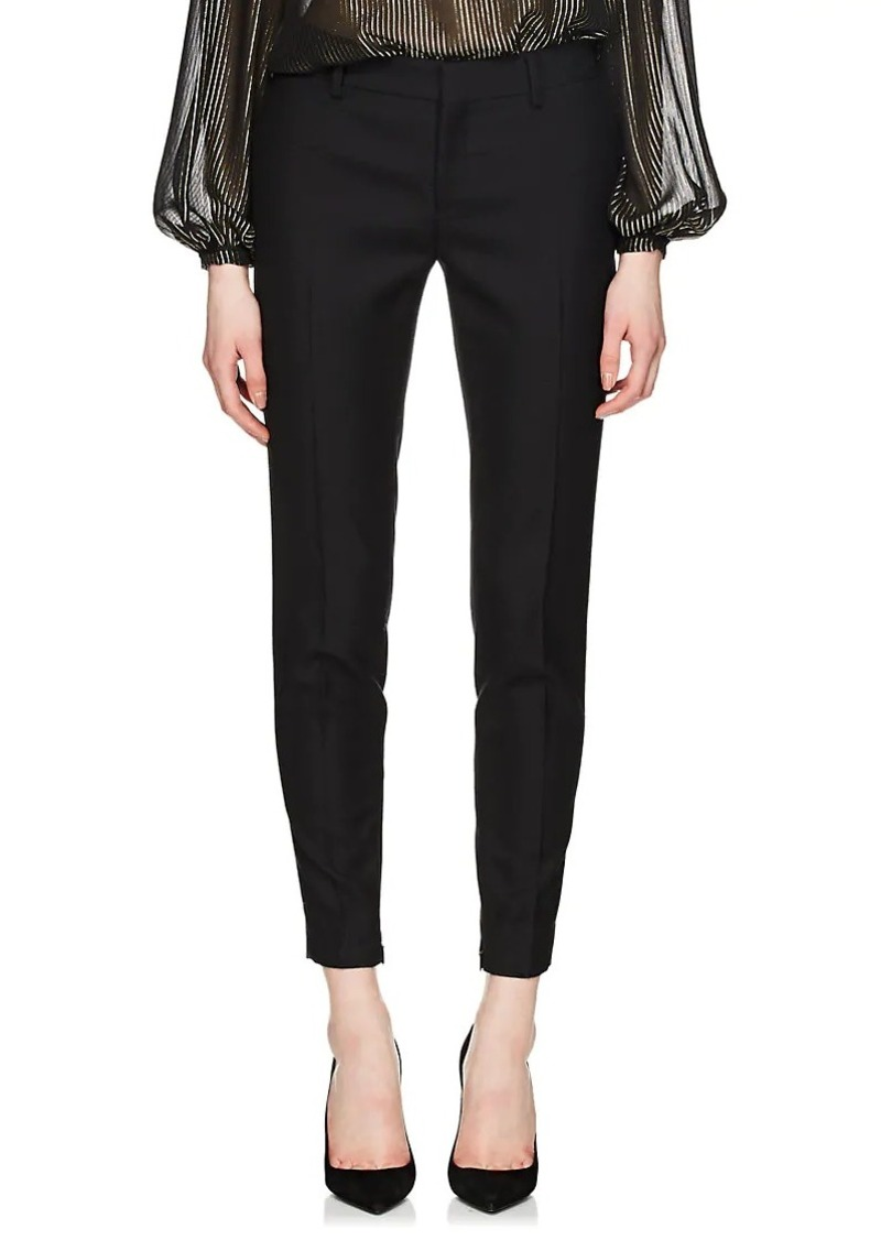 4bbad1d80c6 Saint Laurent Saint Laurent Women's Wool Slim Trousers | Casual Pants