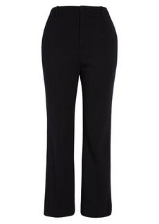 Saint Laurent Wool Blend Ankle Pants