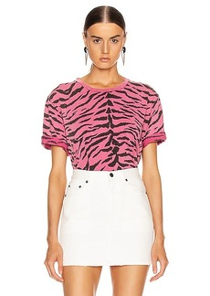 Saint Laurent Zebra T Shirt