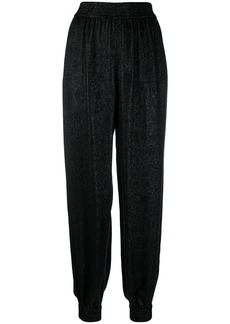 Saint Laurent lamé knit trousers