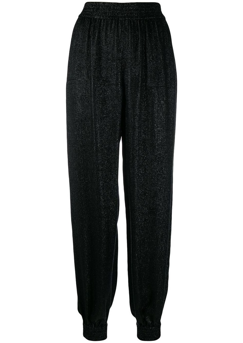 Saint Laurent shiny harem trousers