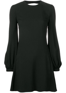Saint Laurent short open back dress
