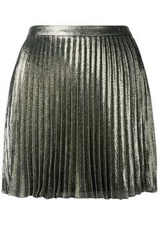 Saint Laurent short pleated skirt