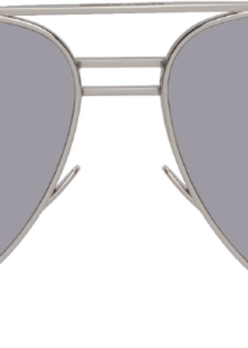 Saint Laurent Silver Classic DB 11 Sunglasses