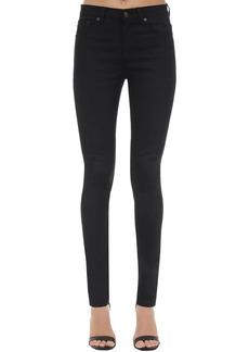 Saint Laurent Skinny Cotton Denim Jeans
