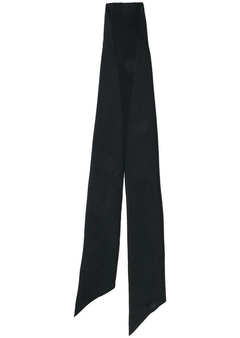 Saint Laurent skinny scarf