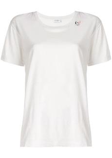 Saint Laurent skull card T-shirt