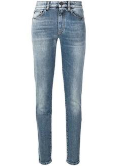 Saint Laurent SL embroidered skinny jeans