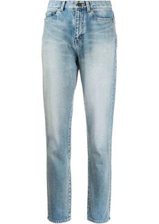 Saint Laurent slim-fit carrot jeans