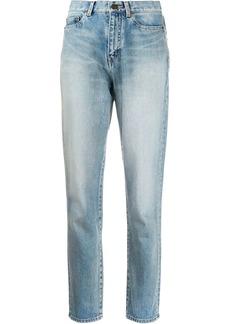 Saint Laurent slim-fit carrot jeans