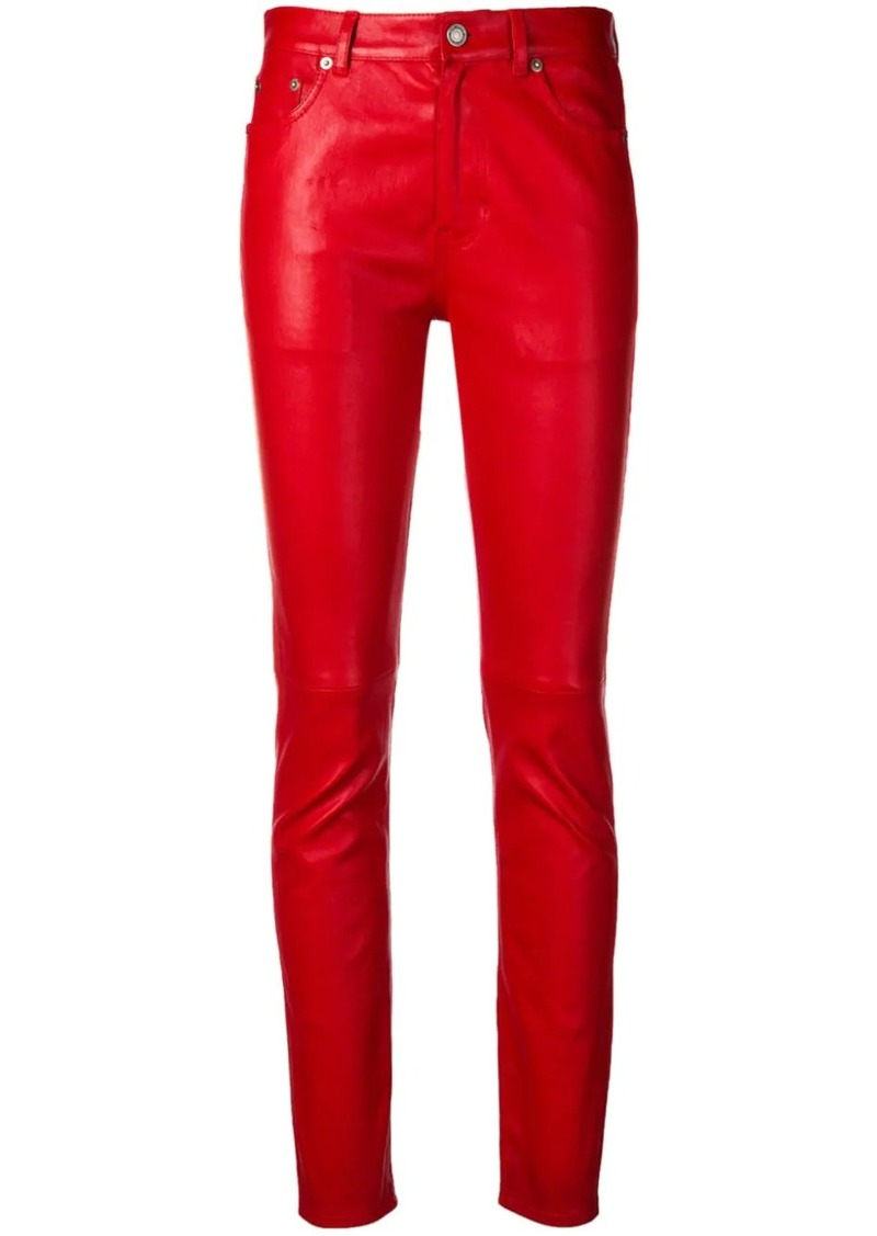 Saint Laurent slim-fit trousers