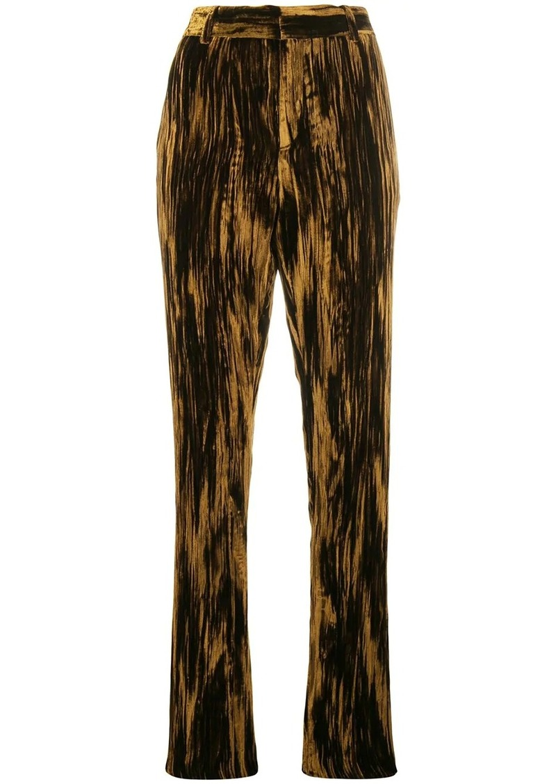 Saint Laurent slim high-waist trousers