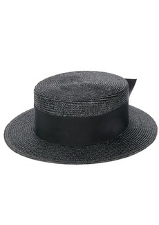 Saint Laurent small boater hat