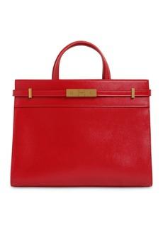 Saint Laurent Small Manhattan Leather Top Handle Bag
