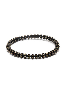 Saint Laurent spine beaded bracelet