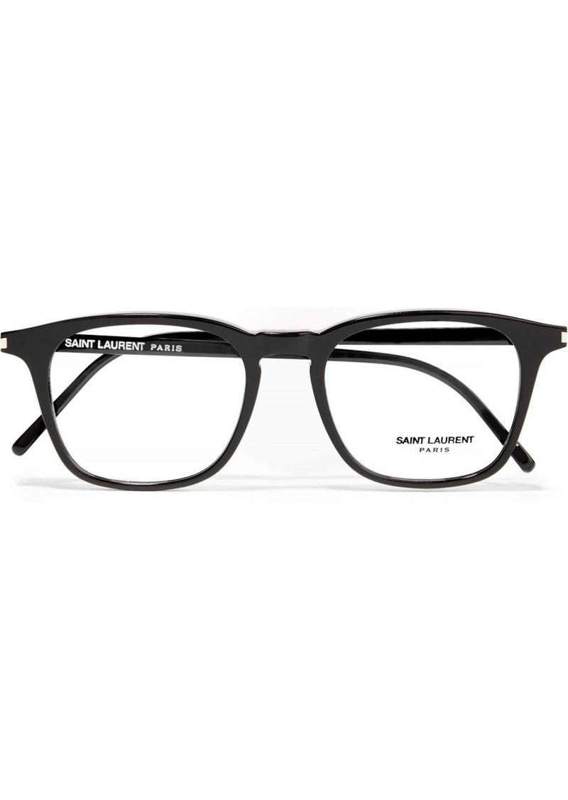Saint Laurent Square-frame Acetate Optical Glasses