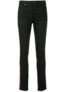 Saint Laurent star bands skinny jeans