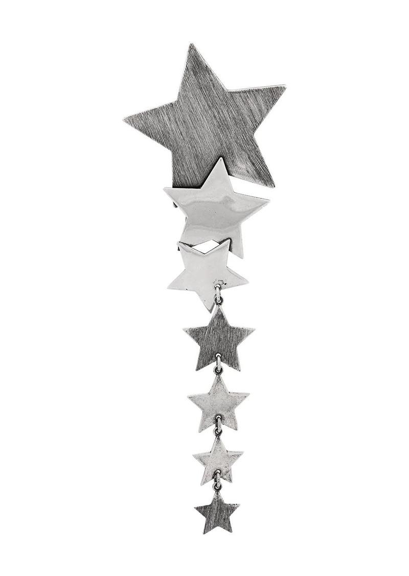Saint Laurent multiple star drop earrings