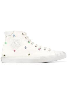 Saint Laurent star-print sneakers