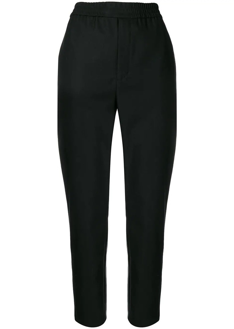Saint Laurent stretch waist slim-fit trousers