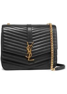 Saint Laurent Sulpice Medium Quilted Leather Shoulder Bag